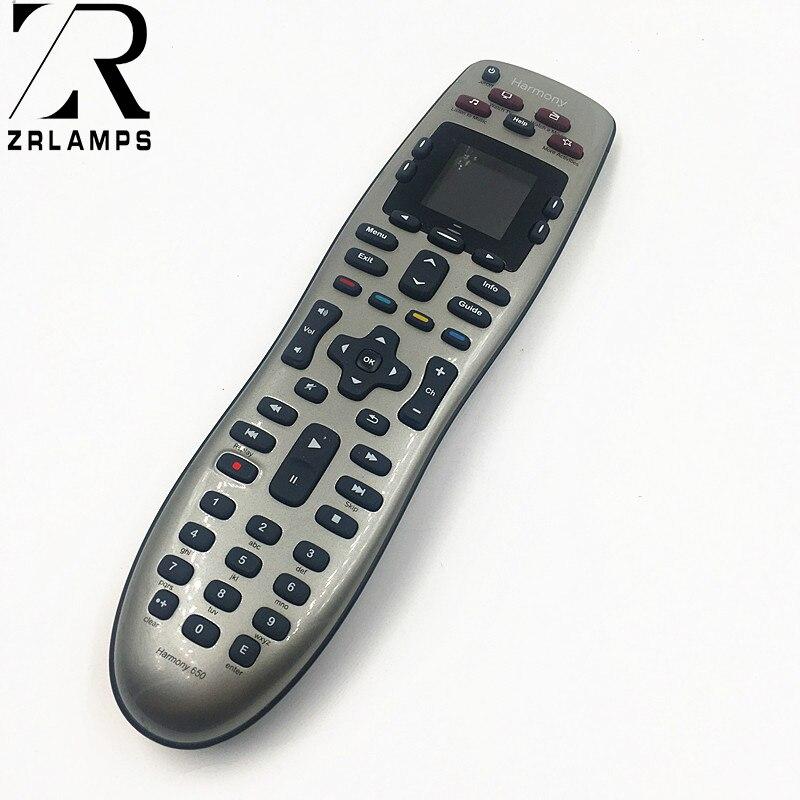 915-000159 Logitech Harmony 650 Remote Control Silver