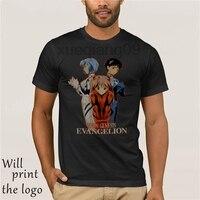 New Vintage Fashion t-shirt 2018 men s to 90 s anime neon genesis evangelion Shirt Reprint.