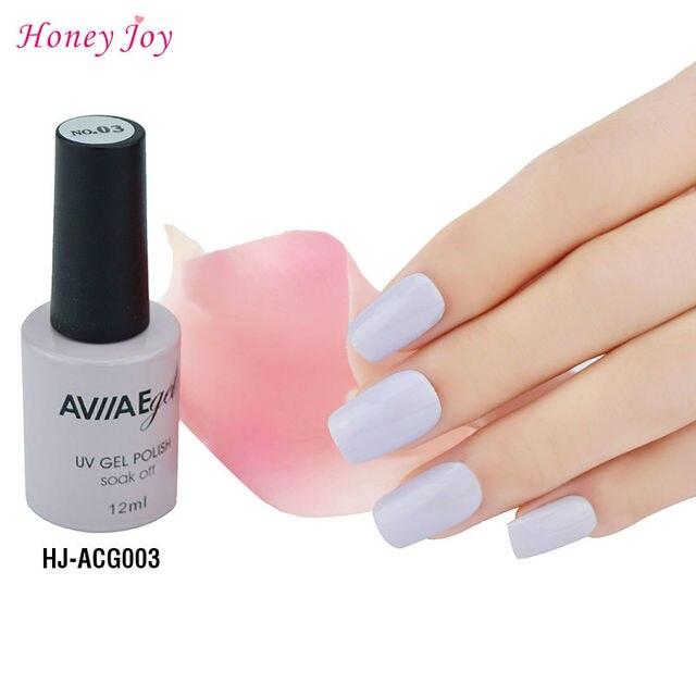 Aviiae Lilac Gel Nail Polish Long Lasting Soak Off Led Uv L