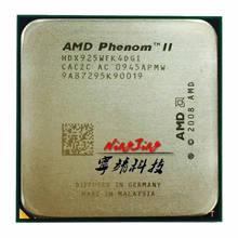 Amd phenom ii x4 925 95w 2.8 ghz quad-core processador cpu hdx925wfk4dgi/hdx925wfk4dgm soquete am3
