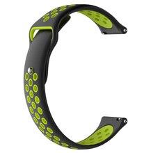 20mm Weiche Silikon Armband Uhr Strap Ersatz Band für SN60 S9 Smart Uhr Sport Strap für Amazfit Bip Q3 q8 Q9