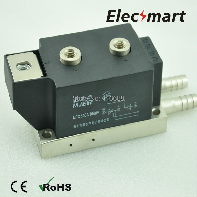 THYRISTOR-DIODE MODULE MFC500A  1600V half thyristor Water-Cooling Type new brand thyristor module mfc mfa mfk mfx 600a welding joint scr module silicon control module compression joint