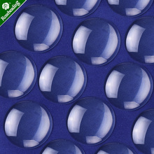50 sztuk przezroczyste okrągłe szkło Dome Cabochon płytka szklana Flatback kryształ powiększające Cameo baza pokrywa fit 30mm Cameo Cabochon ustawianie