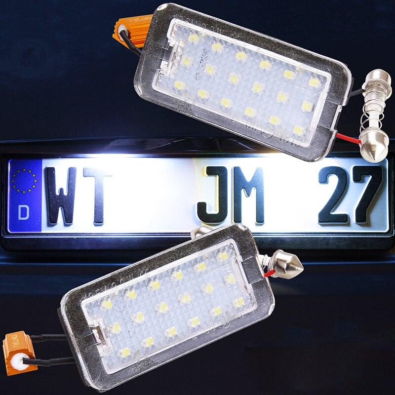 Πολύ φωτεινό 2x Xenon λευκό 18SMD οδήγησε - Φώτα αυτοκινήτων - Φωτογραφία 4