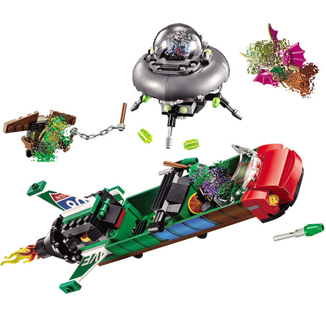 Bela 10263 New Ninja T-Rawket Sky Strike Rocket DIY Model Building Blocks  education Toys