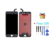 Ipartsbuy 3 em 1 para iphone 6 plus (lcd + quadro + touch pad) digitador assembléia