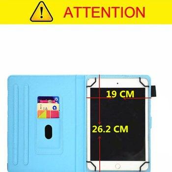PU Leder 10,1 Zoll Abdeckung Filp Fall Für Samsung Galaxy Tab EINE 10,1 2019 Release T510 T515 SM-T510 Tablet Universal Hülse Beutel