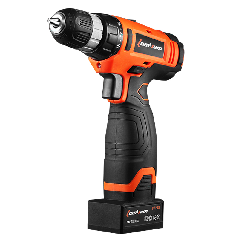 12V 16V 24V Cordless Drill Rechargeable Accumulator Battery Electric Drill Screwdriver Power font b Tool b
