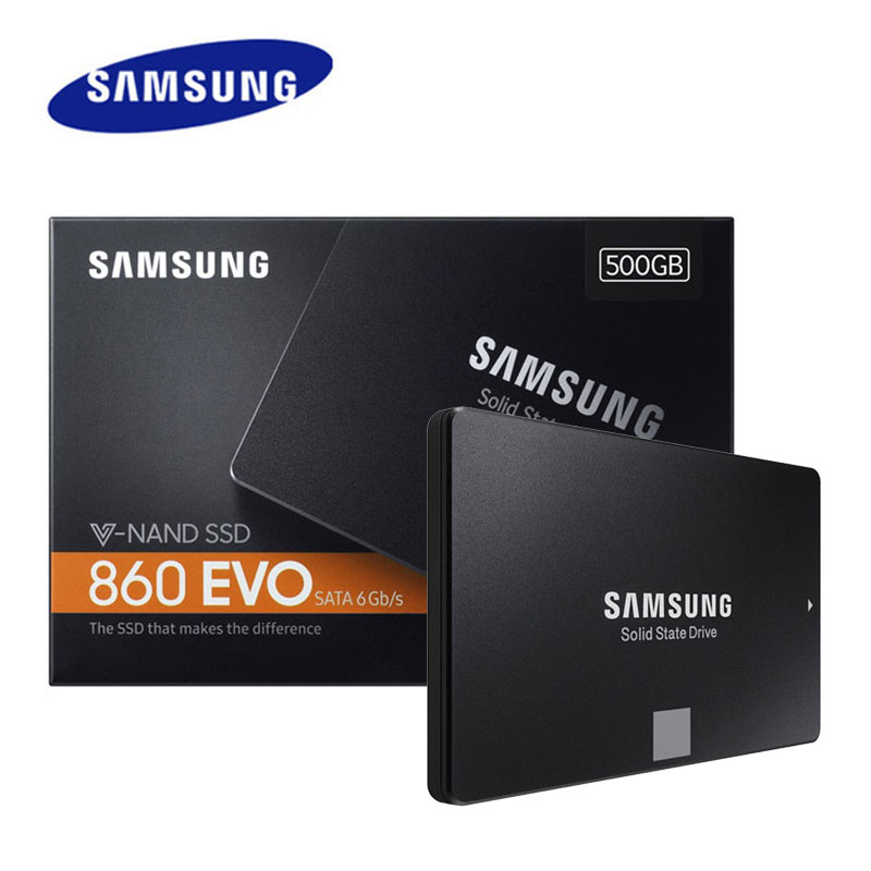 SAMSUNG Solid-State-Drives HDD Laptop 250GB Internal 860 Evo 1TB Desktop SATA3 2TB