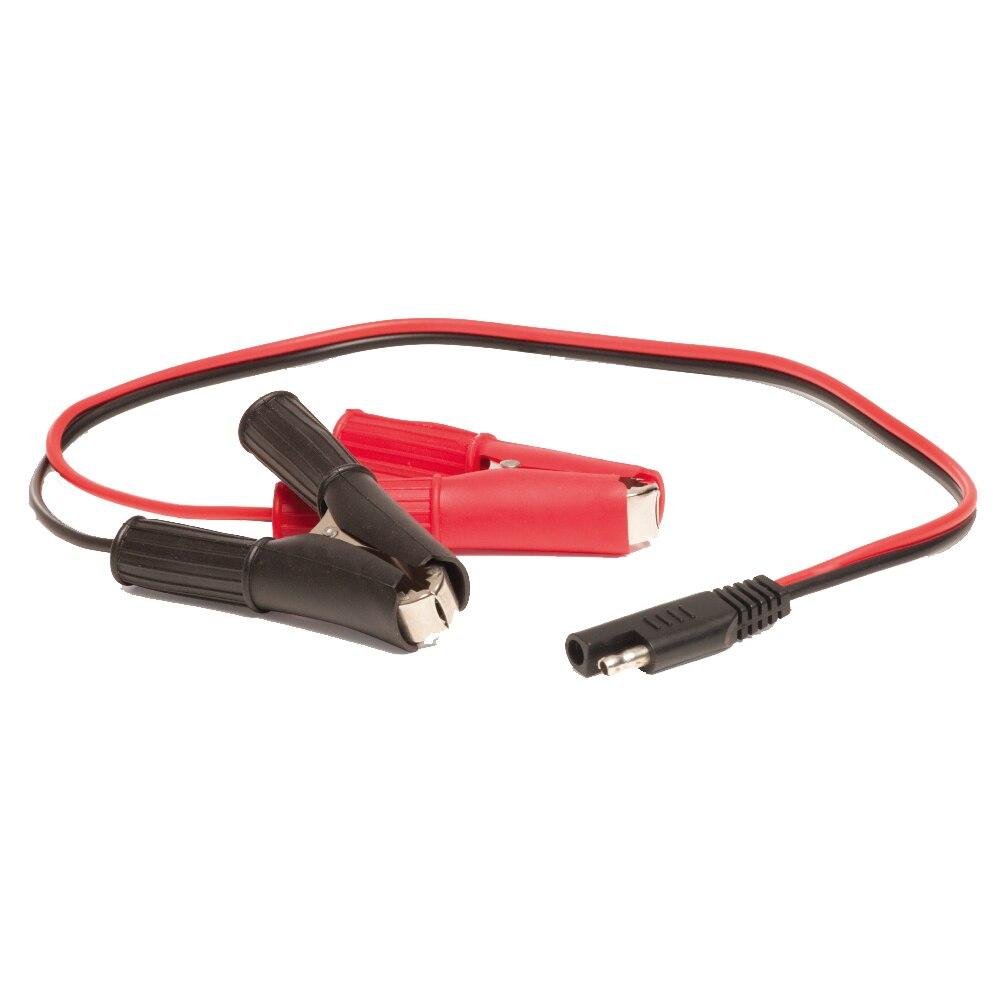 MOTOPOWER Schwere Batterieklemme Kabel mit SAE Schnellverschluss SAE Alligator Clips Schnelltrenn Kabel