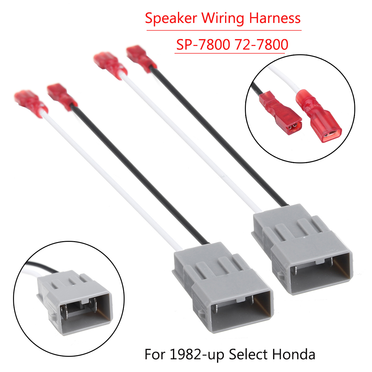 speaker wiring harness adapter one pair speaker wiring harness adapter sp 7800 72 7800 for honda  speaker wiring harness adapter sp 7800