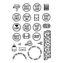Candy postmark Transparent Clear Silicone Stamp/Seal for DIY scrapbooking/photo album Decorative clear stamp