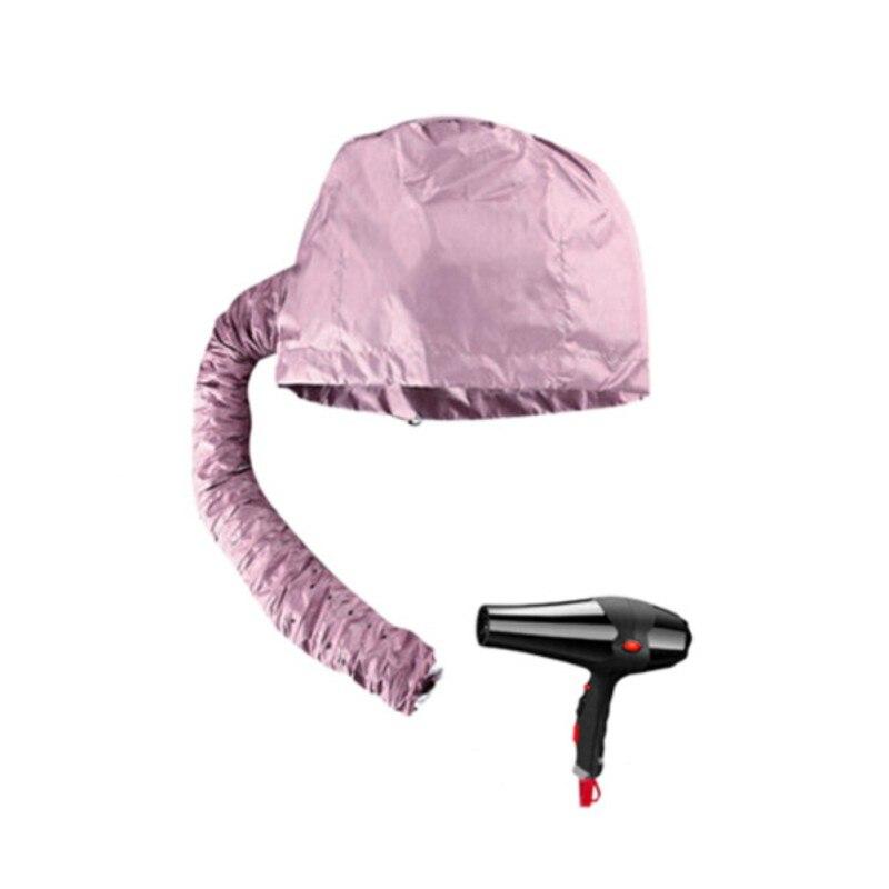 Haircare Women Salon Hairdressing Home Barbershop Hair Dryer Bonnet Caps Soft Hood Attachment Hat Perm Helmet Hair Steamer 2018