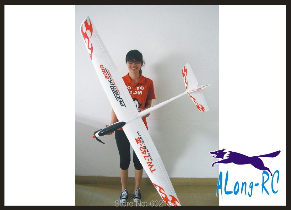 EPO plane RC airplane RC HOBBY TOY GLIDER plane 6 channel WINGSPAN 2000MM PHOENIX 2000 (TW742-3) (KIT SET or PNP set) цена