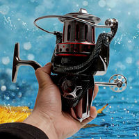 Large Saltwater Fishing Reels Sea Gear Spinning Casting Fishing Tackle Reel