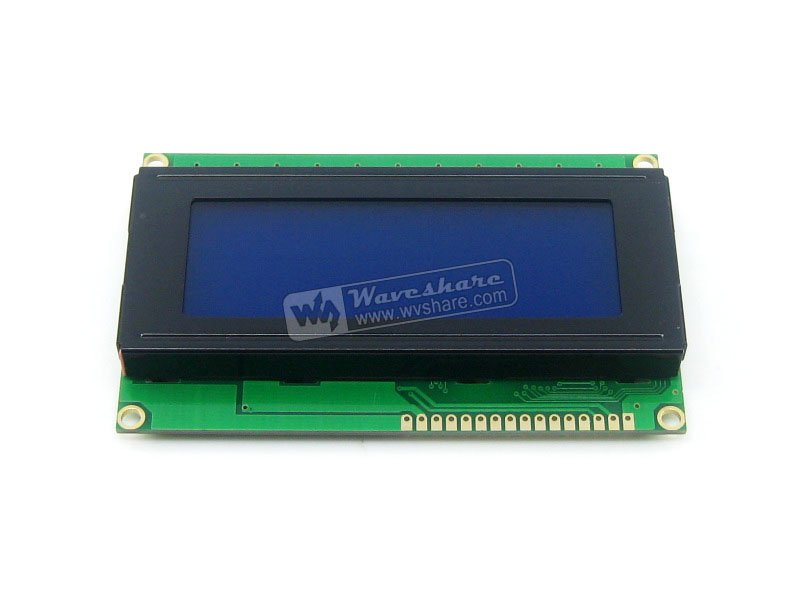 Modules 5V LCD 2004 LCD Module 20x4 20*4 Character LCM Display TN/STN Blue Backlight White Character with HD44780 / KS0066 IC
