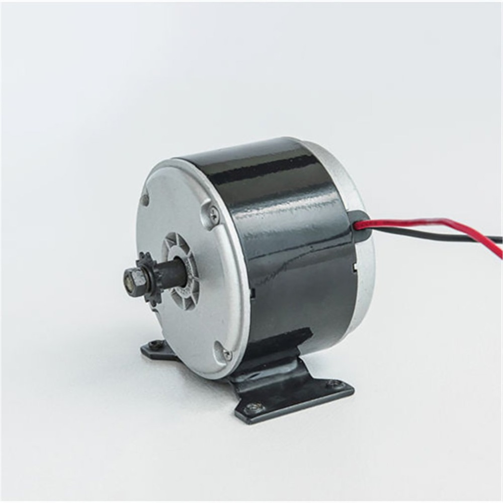 DC 24V Brushed iron Electric Motor 350W  Permanent Magnet Electric Motor Generator For E Scooter Fits many electric scootersDC 24V Brushed iron Electric Motor 350W  Permanent Magnet Electric Motor Generator For E Scooter Fits many electric scooters