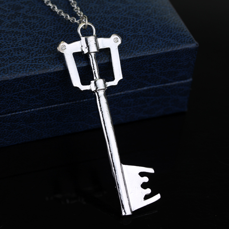 Silver kingdom hearts keyblade necklace oathkeeper soras big key silver kingdom hearts keyblade necklace oathkeeper soras big key pendant necklace game jewelry in pendant necklaces from jewelry accessories on aloadofball Choice Image