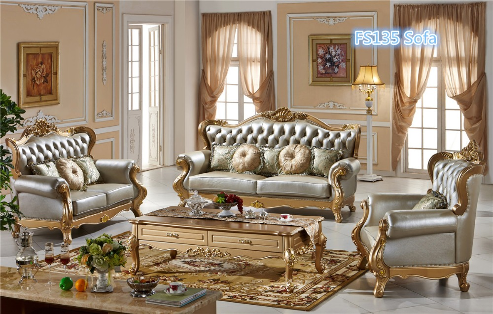 gold leather sofa set garden corner cover homebase 0409 champagne simple luxury style in living room sets from furniture on aliexpress com alibaba group