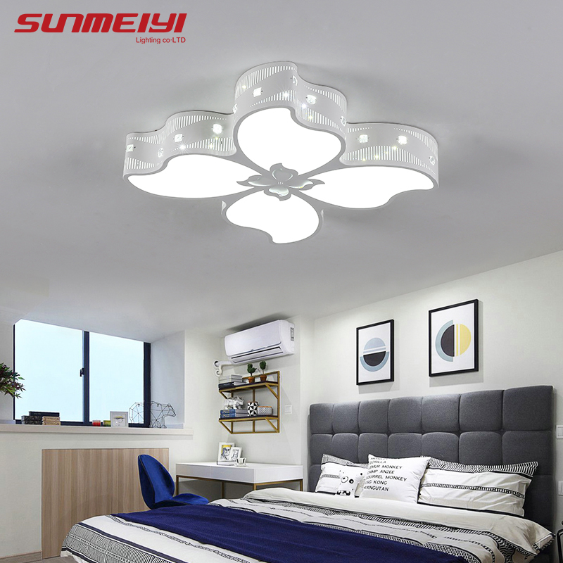 Acrylic Modern LED Ceiling Lights For Dining room Bedroom luminarias de led 30W Dimmable Lighting Fixture decor plafond modern led ceiling lights for home lighting plafon led ceiling lamp fixture for living room bedroom dining lamparas de techo