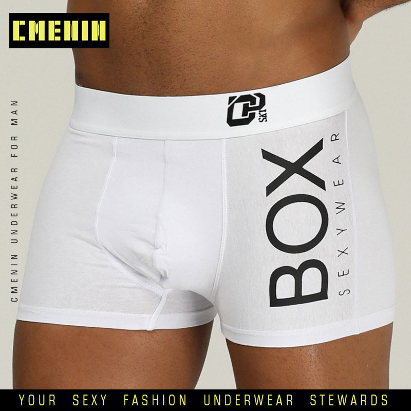 Sexy Underwear Panties Lingerie Long Boxer Gay Male Pure-Cotton Soft OR212 Men