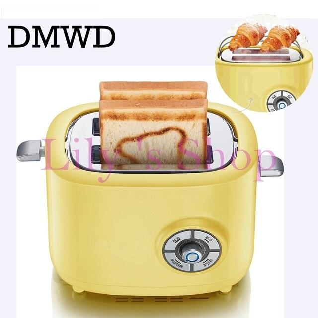 Dmwd Mini Mnage lectrique Grille Pain Petit Djeuner  Tranches De