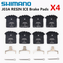 New Shimano J02a J03a Pads Deore Xt Slx Deore J02a Cooling Fin Ice Tech Brake Pad Mountain M785 M675 M7000 M8000 M9000 M6000 shimano deore xt sl m8000 2 3 speed mountain bike bicycle left front rapidfire shifter shift new in box single