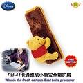 Автоаксессуары мультфильм винни небольшой медведь автомобилей ремень безопасности плеча протектора pad комплект PH-41 бесплатная доставка
