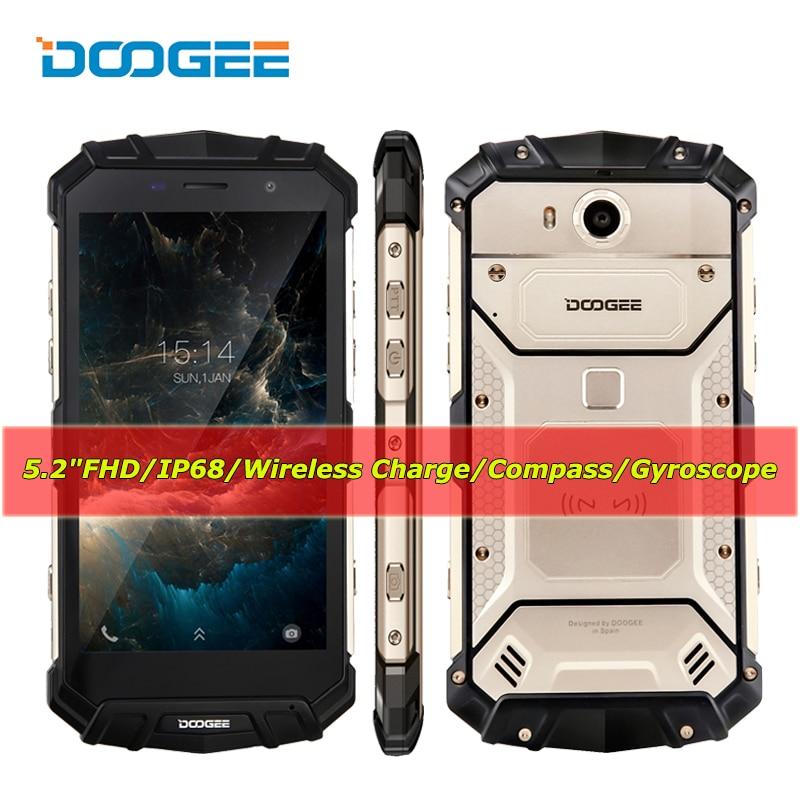 DOOGEE S60 Lite IP68 Smartphone 4 GB RAM + 32 GB ROM Octa-core Celular Android 7.0 12 V 2A 5580 mAh 16MP 5,2