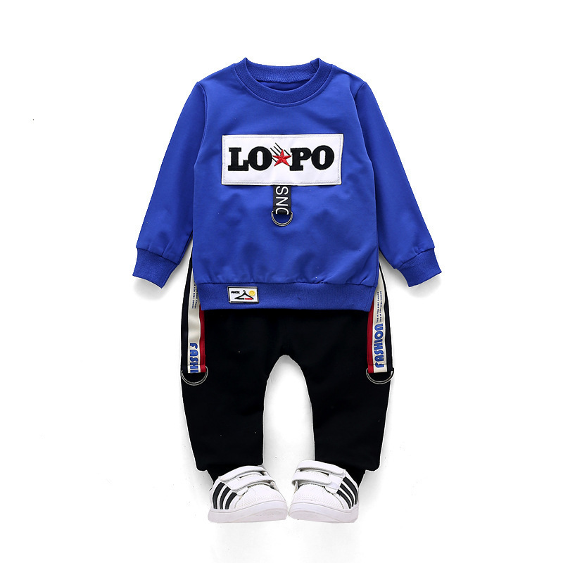 Children Infant Pure Cotton Clothing Sets 2018 Fashion Spring Autumn Baby T-shirt Pants 2Pcs/sets Toddler Tracksuit Kids Clothes toddler kids baby girl clothes fashion camouflage t shirt tops pants 2pcs outfits clothing set sport suit children tracksuit