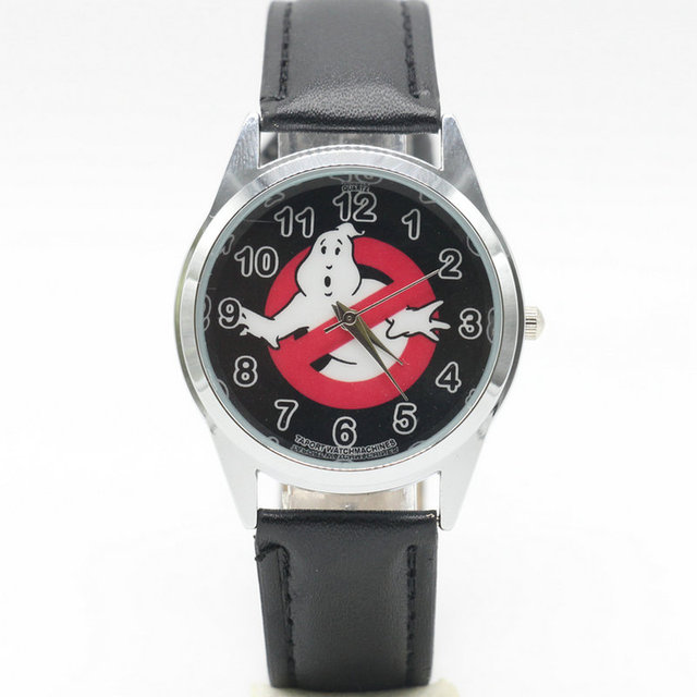 2017 Ghostbusters Leather Belt Students Watch Creative Gift Quartz Watch Childre