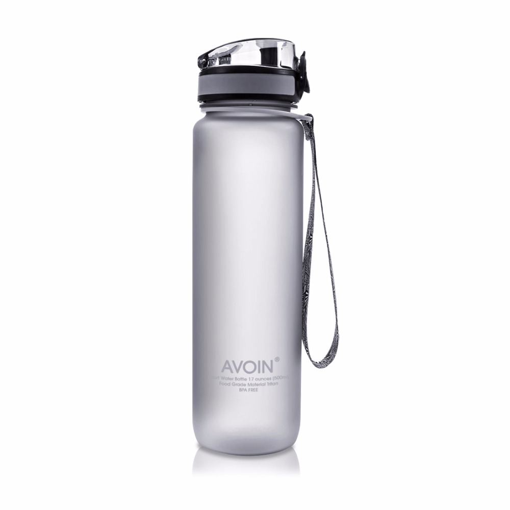 500 & 1000 ml Drinkware בקבוק מים חיצוני ספורט נסיעות מתנה האהובה שלי המכסה העליון Flip Tritan פועל מחנאות נייד BPA חינם