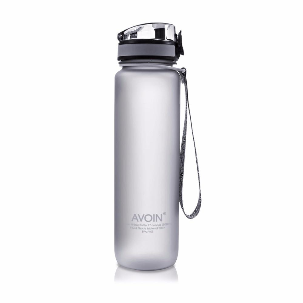 500&1000ml Water Bottle Outdoor Drinkware Sport Tritan Flip Top Lid My Favorite Gift Travel Camping Running Portable BPA free