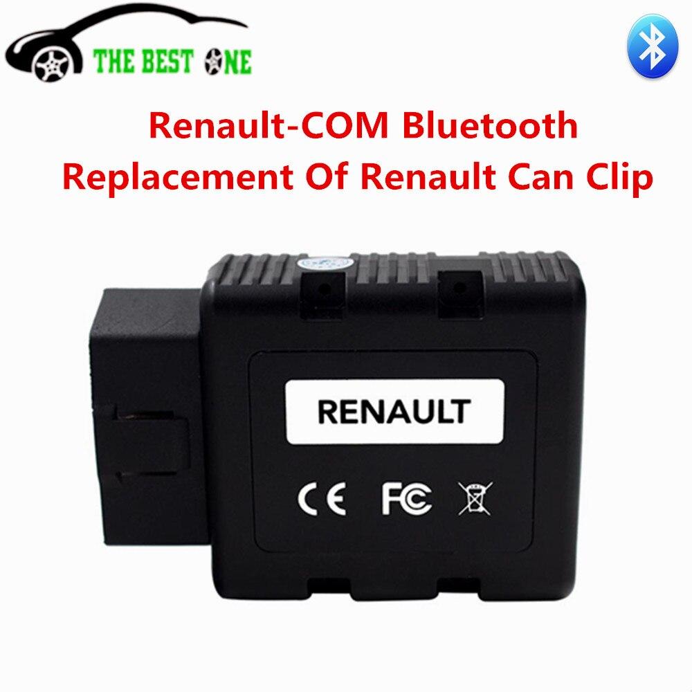 Цена за Лучшее качество для Renault-com Bluetooth Авто диагностический инструмент ключа программирования для Renault com заменить для Renault может клип