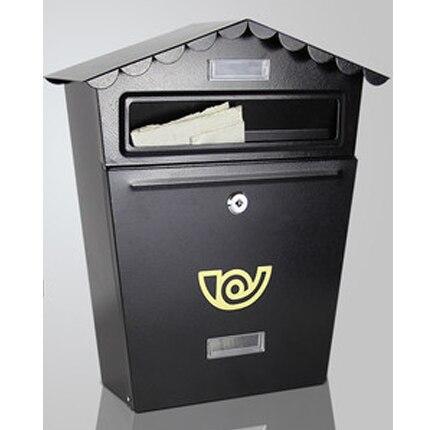 Petite boîte aux lettres de conception de mode Simple boîte aux lettres pour lettre petite boîte de rangement de carte de journal avec serrure