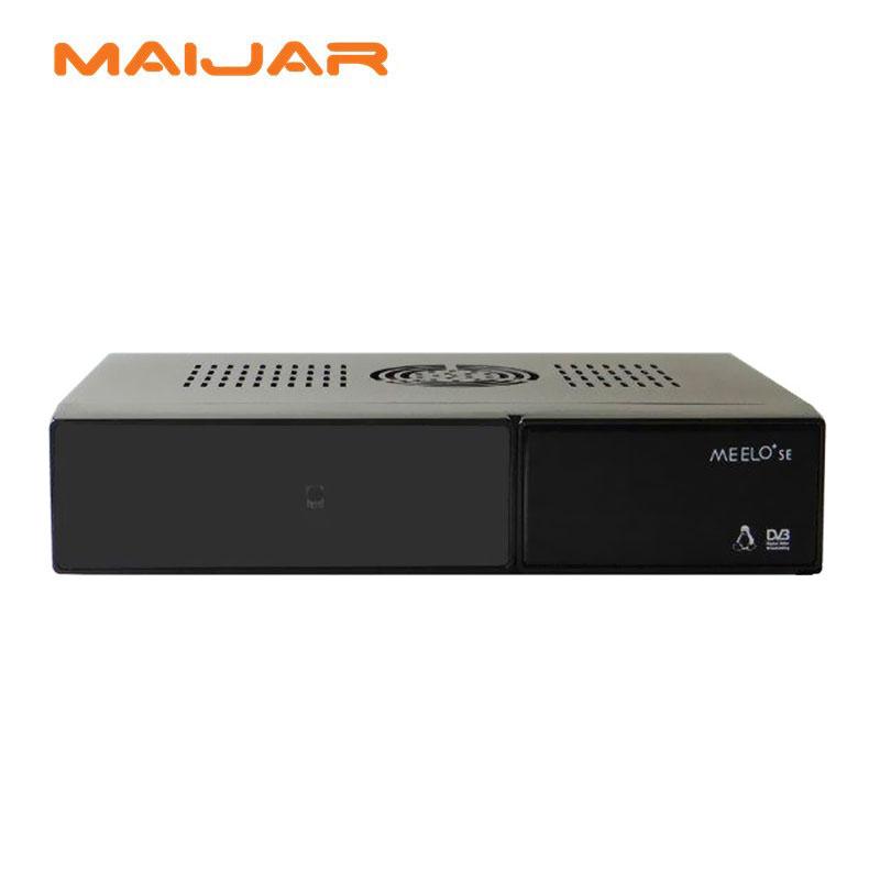 Prix pour D'origine Meelo + se même comme VU SOLO 2 SE Logiciel Double tuner Satellite Récepteur Linux 1300 MHz CPU deux CA