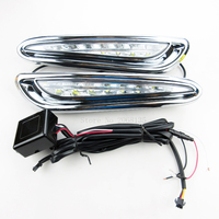 High Quality Replacement LED Car DRL Daytime Running Light With Turn Off Style Relay For Mazda