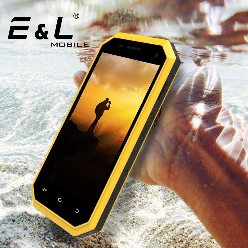 E L W6 2017 Original Smartphone Waterproof Dustproof Shockproof Phone Ip68 Mobile Phone Android 4G Unlocked