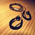 100% Original LaoZe DIY Tapón de Cabeza Plana de 3.5mm En la Oreja Del Auricular Auricular Bass HIFI Auriculares Deporte Auricular Sin Micrófono