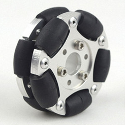 60 мм двойной Алюминий всенаправленный колеса (Omni колеса) 1414560 миллиметра робот конкуренции Универсальный колеса Алюминий колеса