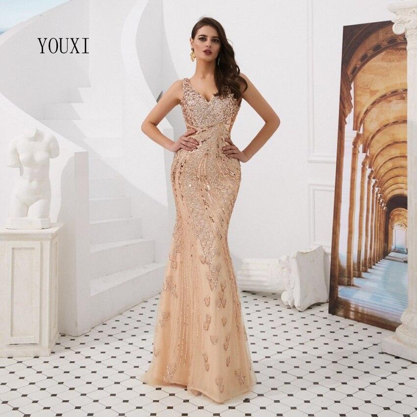 dd577e798d3 Роскошное шикарное платье с глубоким v-образным вырезом