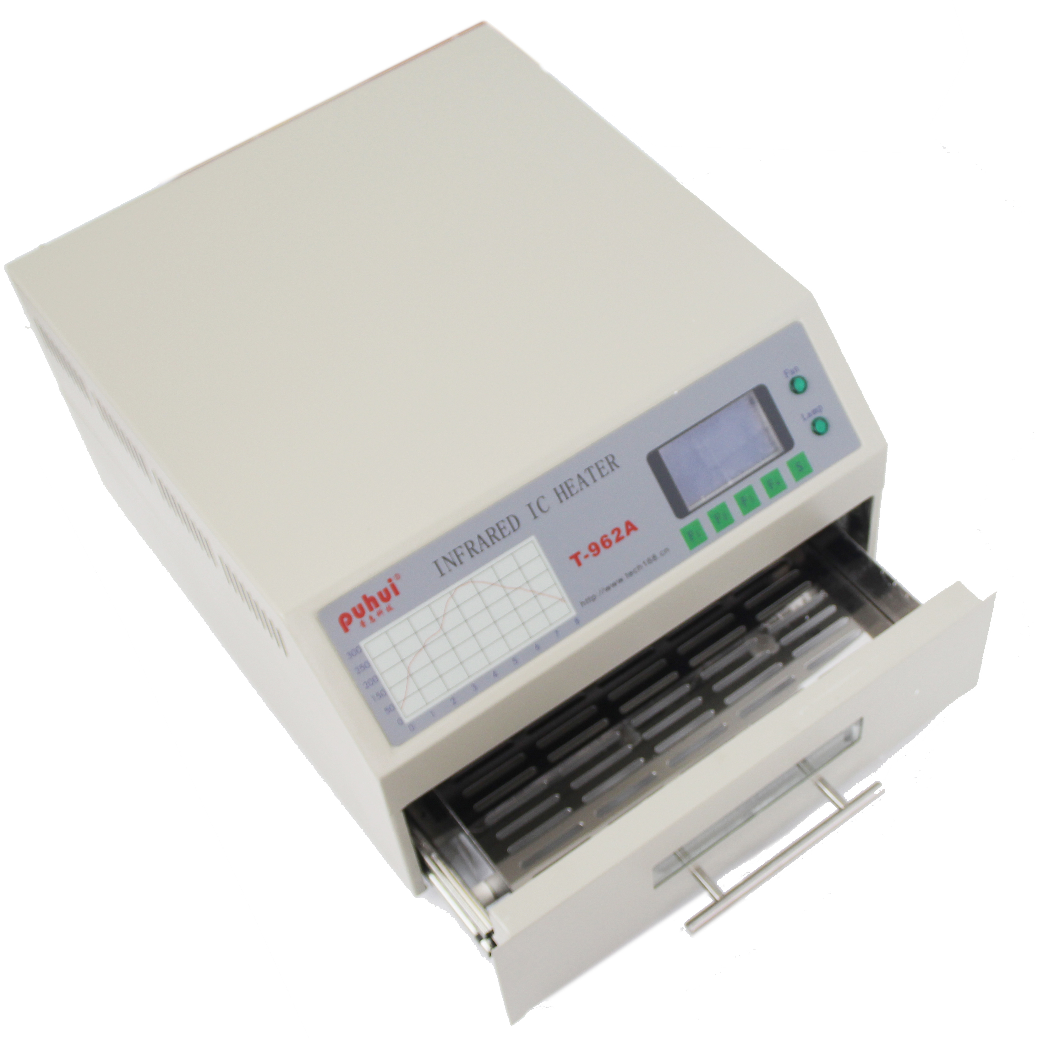 T-962 Desktop Reflow Oven Infrared IC Heater Soldering Machine 800W 180 X 235mm T962 For BGA SMD SMT Rework