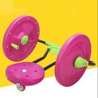 Hand car drift swing for children shook baby kids walker car glide music lights rotating toys
