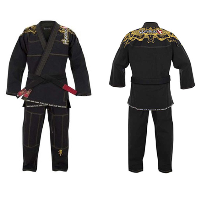 Free shipping high quality golden dragon embroidery hayabusa