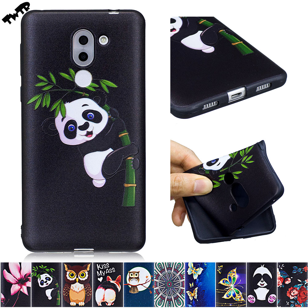 3D Soft Silicone Case for Huawei GR5 <font><b>2017</b></font> BLL-L21 BLL-L23 Phone Fitted Case for Huawei <font><b>GR</b></font> <font><b>5</b></font> <font><b>2017</b></font> BLL L23 L21 TPU Frame Cover image