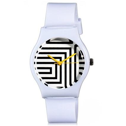 Willis för Mini Kvinnors trendiga casual klocka Zebra Pattern Analog - Damklockor - Foto 3