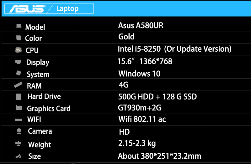 Asus A850UR