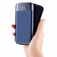 Realy 30000 мАч Внешний аккумулятор PoverBank 2 USB lcd power Bank портативное зарядное устройство для мобильного телефона для Xiaomi Mi iphone X