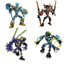 BIONICLE series Ekimu the Msdk Maker Lava Beast Storm Qurke action figure Building Block toy