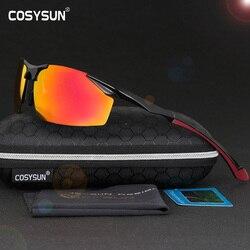 2018 Men Polarized Aluminum Alloy Frame Sunglasses Mirror Lens Driving Polarzied Sunglasses Fashion Men's Sunglasses 3 Color